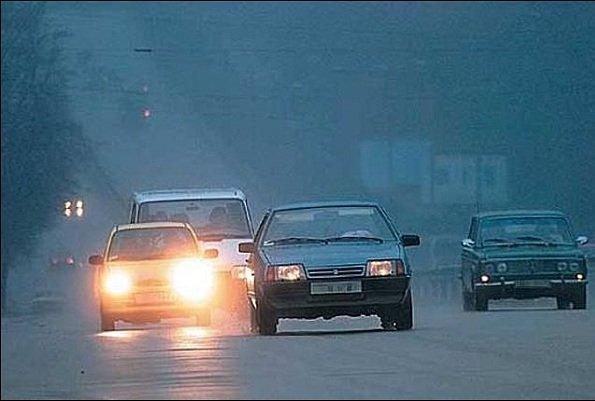 Световые сигналы автомобилистов России