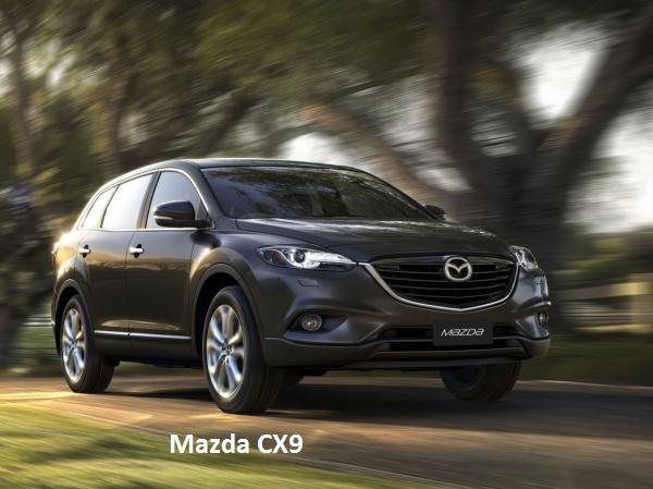 Mazda CX9 цена описание фото видео тест