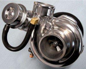 Увеличение мощности двигателя компрессором или турбиной