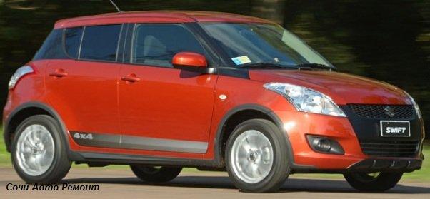 Suzuki Swift — полный привод
