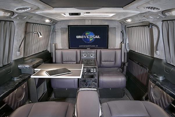 Салон микроавтобуса своими руками