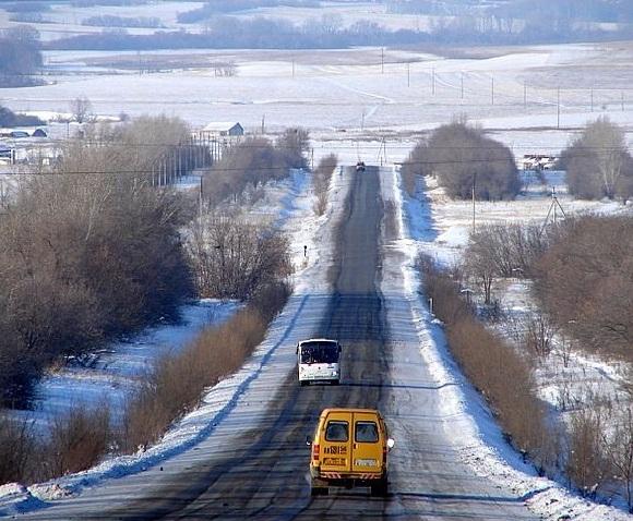Как экономить топливо на зимних трассах