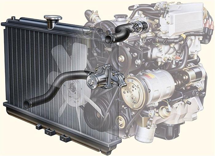 Неполадки системы охлаждения автомобиля
