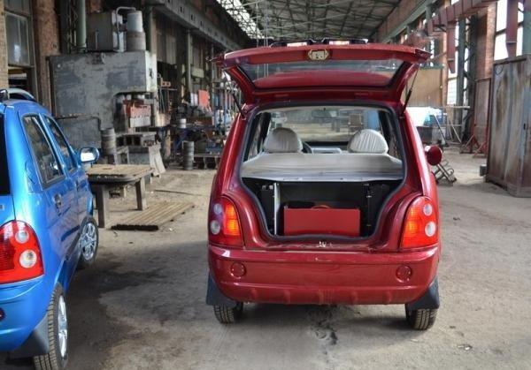 Электромобиль E-Car 2013