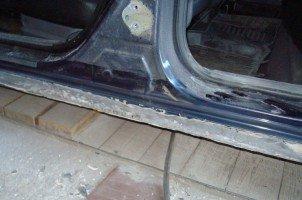 Как качественно отремонтировать пороги своего авто