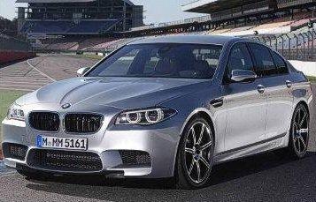 BMW M5 2014 обновление модели