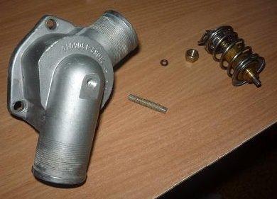 Подрезка штока термостата для корректровки температуры двигателя