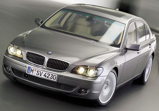 BMW 750 Li — обзор автомобиля