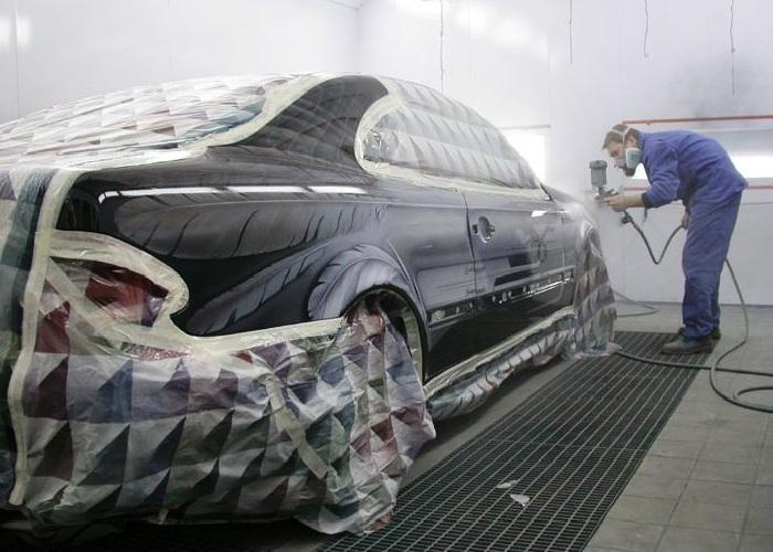 Покраска авто на СТО гарантирует качество!
