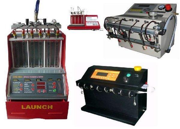 Оборудование для очистки и проверки форсунок