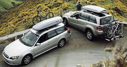 Автомобильные багажники виды и преимущества