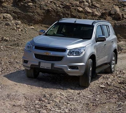 Chevrolet Trailblazer 2012-2013