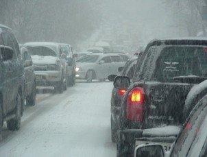 Предотвращение аварий на дорогах зимой