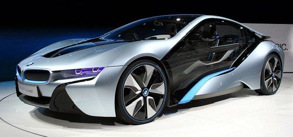 BMW i8 2014 — спорт-кар — фантастика!
