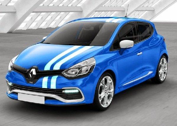 Renault Clio R.S. 2014 — зарядка прошла успешно