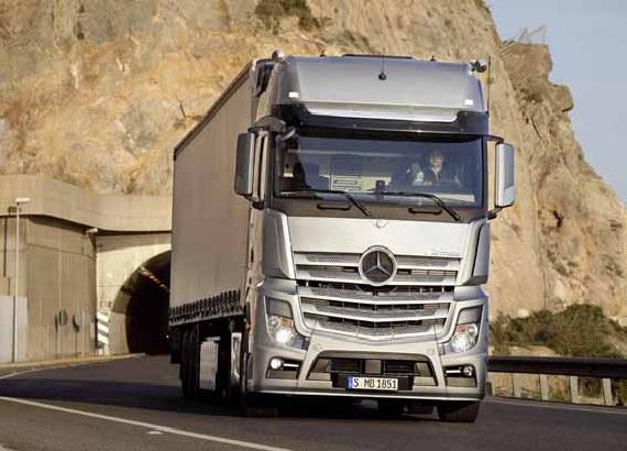 Mercedes-Benz Actros — лучший грузовик планеты