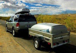 Багажник или прицеп - что удобнее для автовладельца