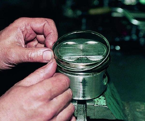 Как поменять кольца на ВАЗ