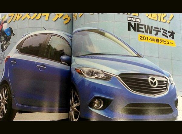 Mazda 2 2015 — обзор нового хэтчбека