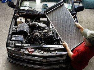 Обслуживание радиатора автомобиля