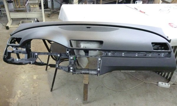 Как отремонтировать торпеду автомобиля