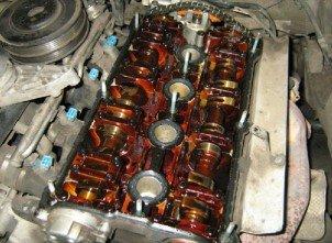 Ремонт двигателя Audi своими руками