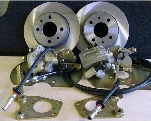 Задние дисковые тормоза или барабанные?