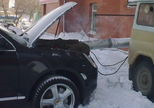 Запуск двигателя зимой — правила и советы