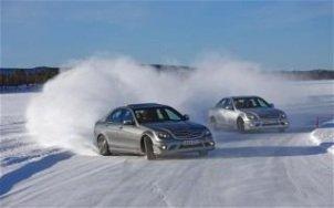 Задний привод зимой - особенности вождения