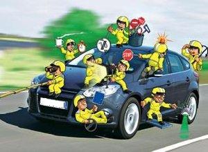 Системы безопасности автомобиля