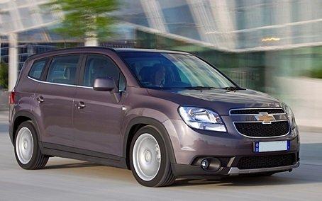 Chevrolet Orlando — обзор автомобиля
