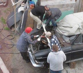 Подготовка к ремонту двигателя