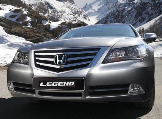 Honda Legend – начало легенды бизнес-класса