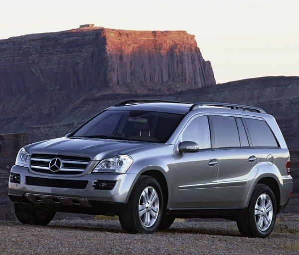 Мерседес GL обзор автомобиля