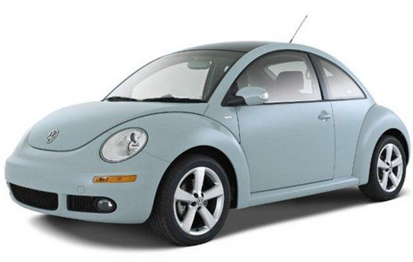 Volkswagen New Beetle — обзор жука