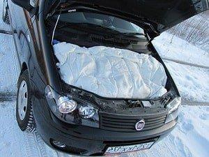 Автомобильное одеяло для утепления капота