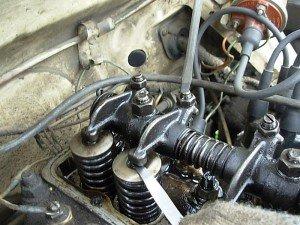 Регулировка клапанов двигателя 402