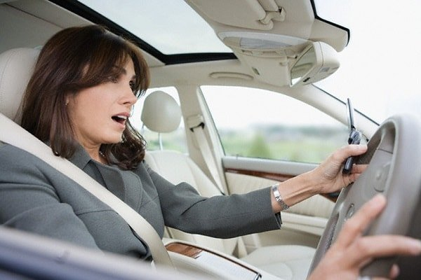 Водитель новичок на дороге