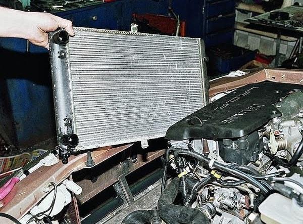 Демонтаж радиатора печки ВАЗ 2110