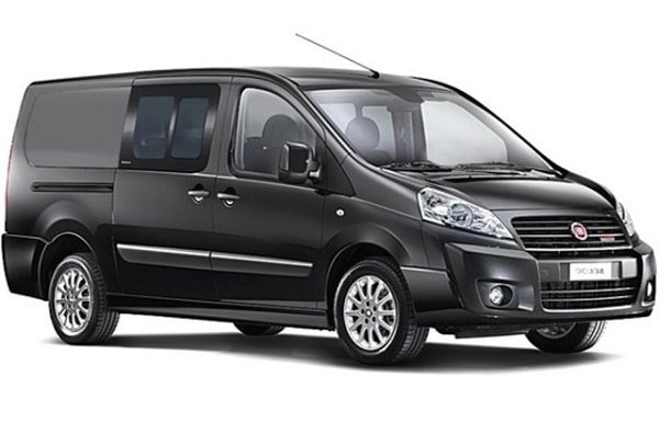 Обновленный микроавтобус Fiat Scudo