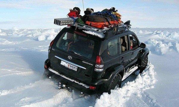Ночевка в автомобиле зимой и самодельная печка