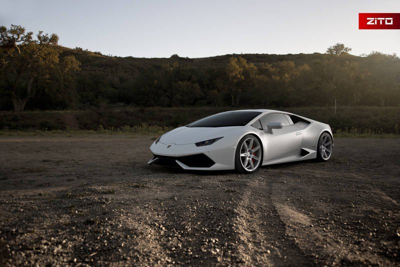 Lamborghini Huracan на дисках Zito Wheels