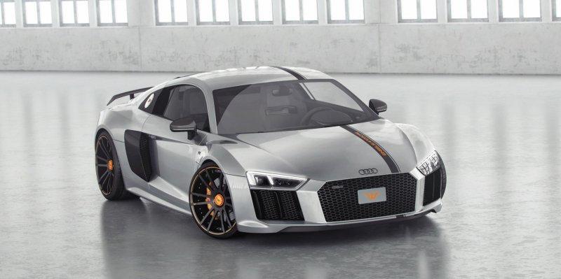Сверхмощная Audi R8 V10 Plus от Wheelsandmore