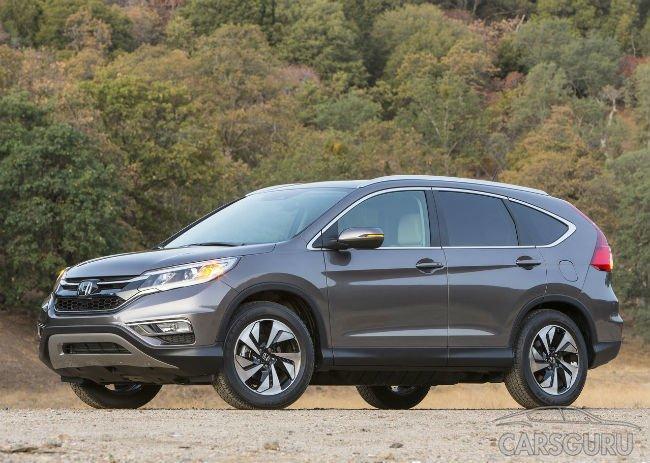 В Honda прокомментировали тему поставок CR-V с большим мотором