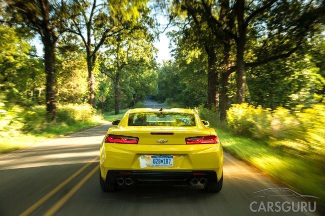 Chevrolet начал продавать в России Camaro нового поколения