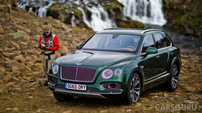 Bentley представил версию Bentayga для… рыболовов