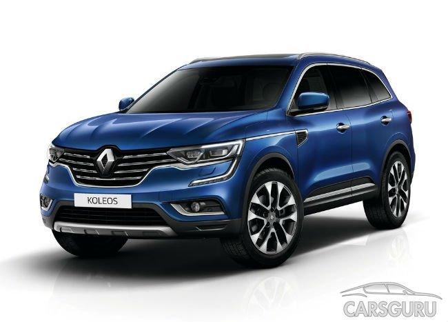 Новый Renault Koleos начнут продавать в России в 2017 году