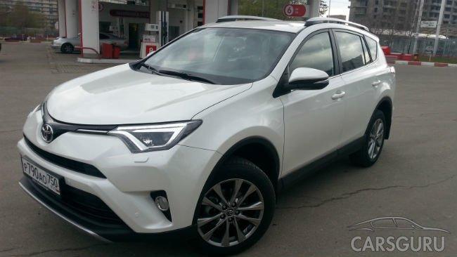 Toyota RAV4 стал самым популярным кроссовером Москвы