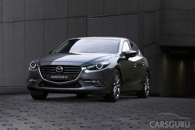В России начат прием заказов на обновленную Mazda3