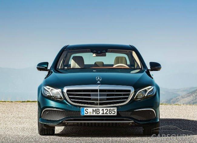 В России будут предложены новые модификации Mercedes E-Class